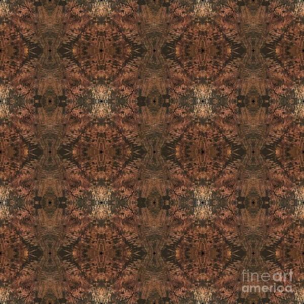 Mixed Media - Copper Abstract 1 by Mastiff Studios