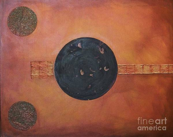Painting - Copper Clad by Marlene Burns