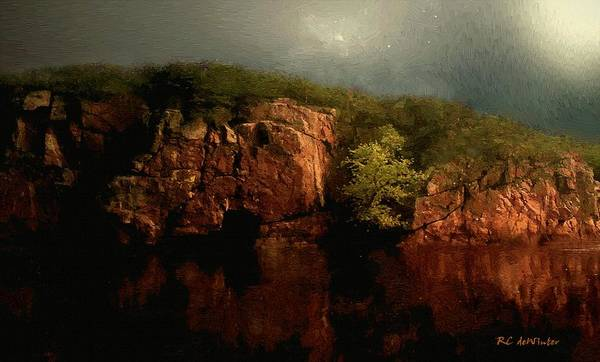 Painting - Copper Cliffs by RC DeWinter