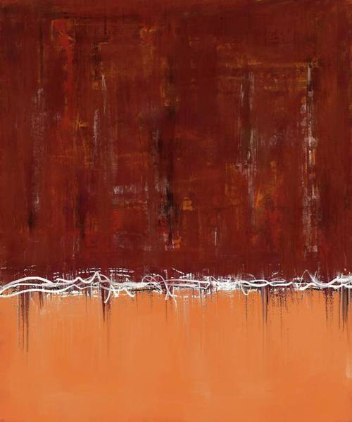 Digital Art - Copper Field Abstract Painting by Eduardo Tavares