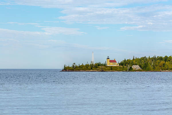 Photograph - Copper Harbor Light Station by Jack R Perry