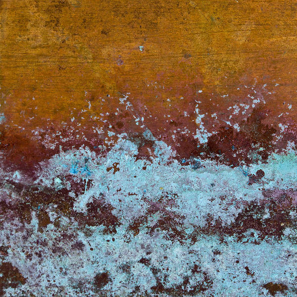Corrosion Photograph - Copper Patina by Carol Leigh
