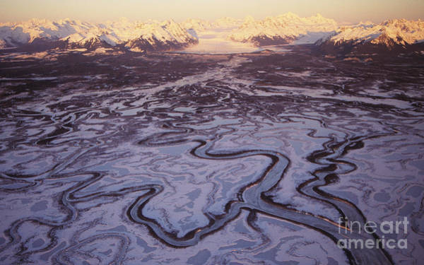 Expanse Photograph - Copper River Delta by John Hyde - Printscapes