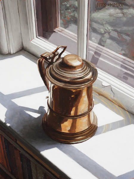 Painting - Copper Tankard by Harry Steen