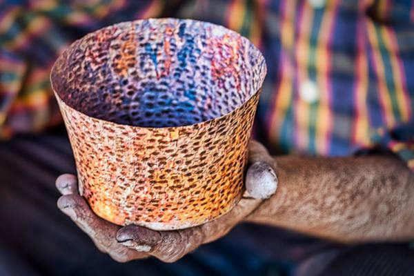 Photograph - Copper Work In Progress - Romania by Stuart Litoff
