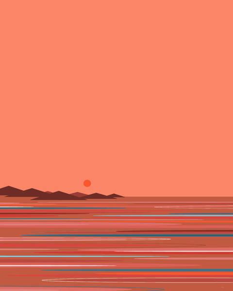 Digital Art - Coral Seas by Val Arie