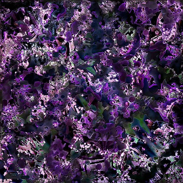 Digital Art - Coral See Vegetation by Artful Oasis