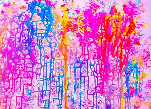 Painting - Corals by Monique Wegmueller