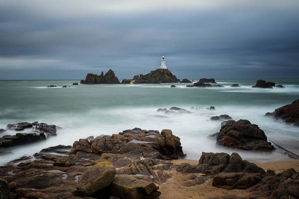 Photograph - Corbiere Lighthouse by James Billings