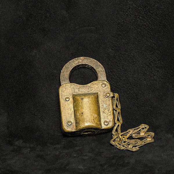 Photograph - Corbin Padlock by Fred Denner
