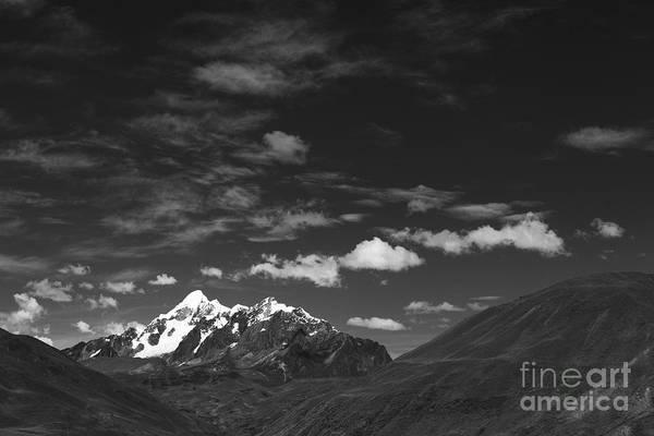 Photograph - Cordillera Vilcanota Peru by James Brunker