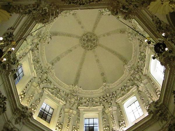 Photograph - Cordoba Cathedral Ancient Ornate Ceiling Spain by John Shiron