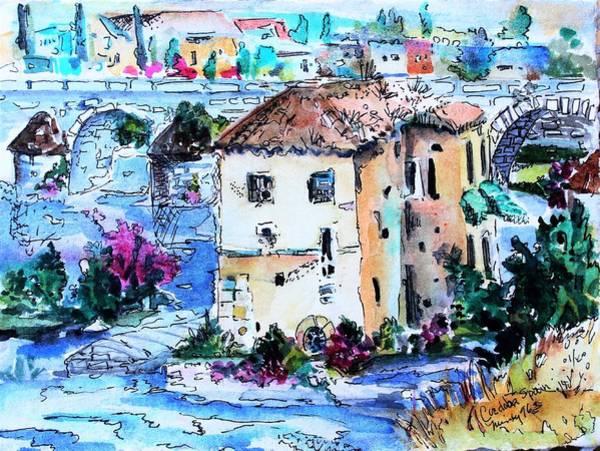 Wall Art - Painting - Cordoba Spain by Mindy Newman