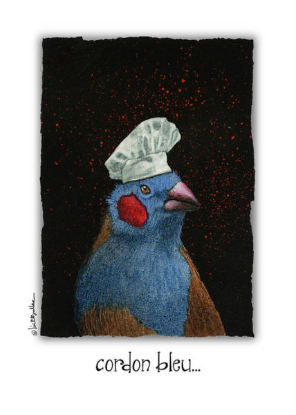 Painting - Cordon Bleu... by Will Bullas