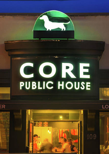 Core Wall Art - Photograph - Core Brewery Public House - Downtown Bentonville by Gregory Ballos