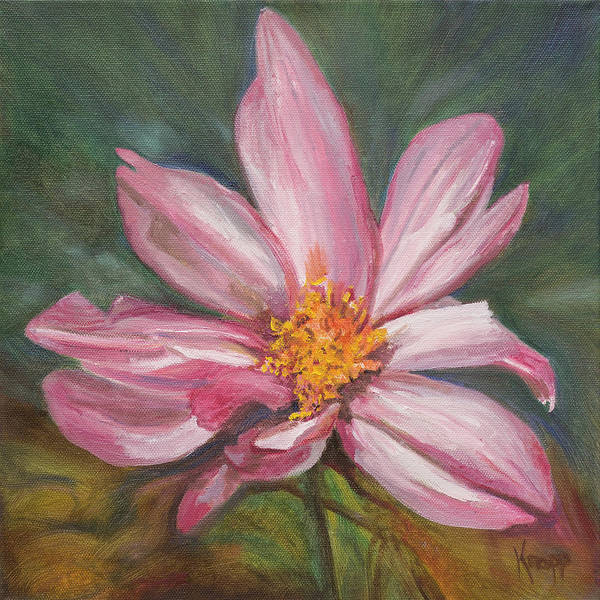 Painting - Coreopsis Flower by Kathy Knopp