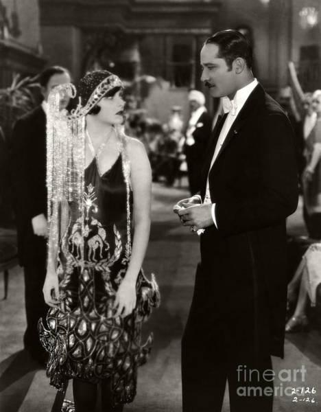 Modiste Photograph - Corinne Griffith Norman Kerry Mademoiselle Modiste 1926 by Sad Hill - Bizarre Los Angeles Archive