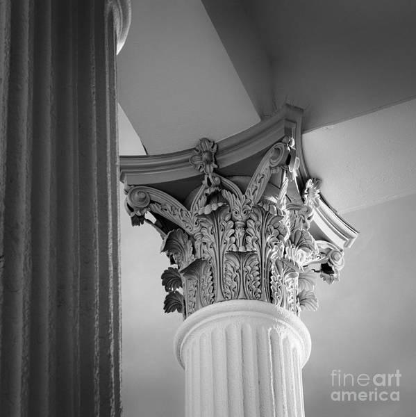 Photograph - Corinthian Capitol by Patrick M Lynch
