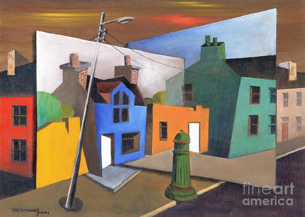 Painting - Cork ..beara.. Ardgroom Planes by Val Byrne