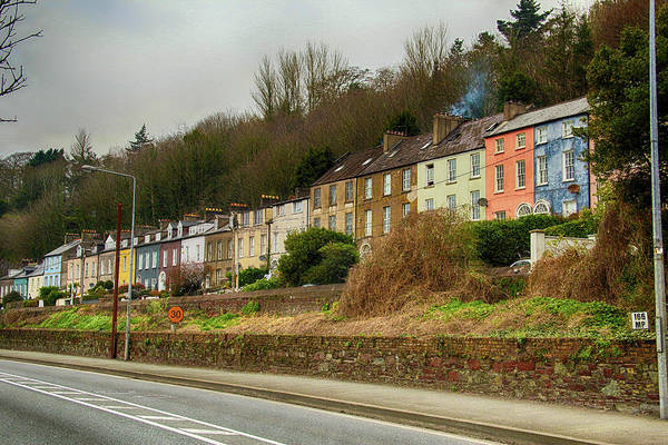 Photograph - Cork Row Houses by Marie Leslie