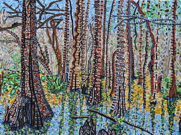 Wall Art - Painting - Corkscrew Swamp Sanctuary by Micah Mullen