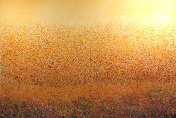 Corn Glow Art Print