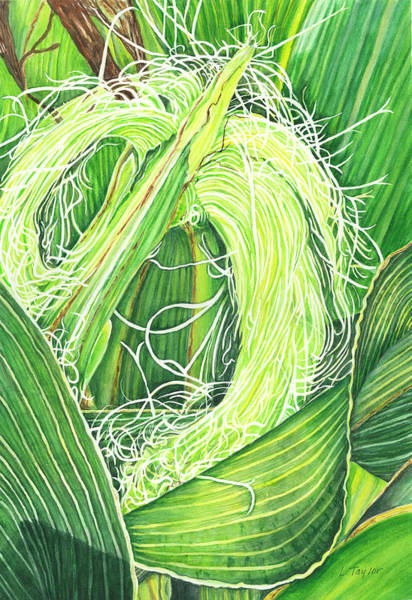 Corn Silk Art Print