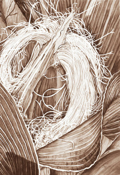 Corn Silk - Neutral Art Print