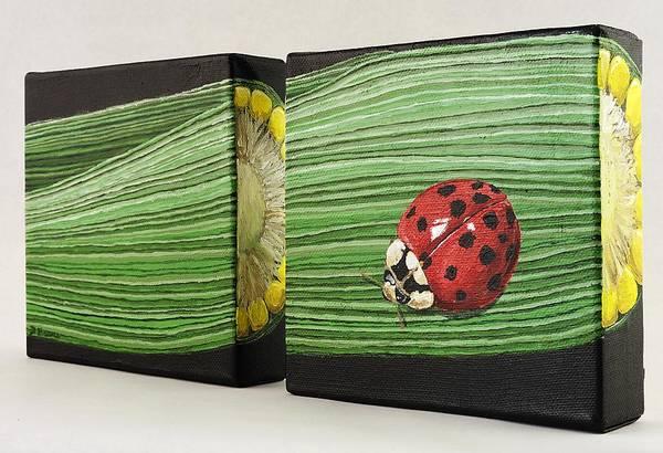 Husk Painting - Corn by Taunya Bruns
