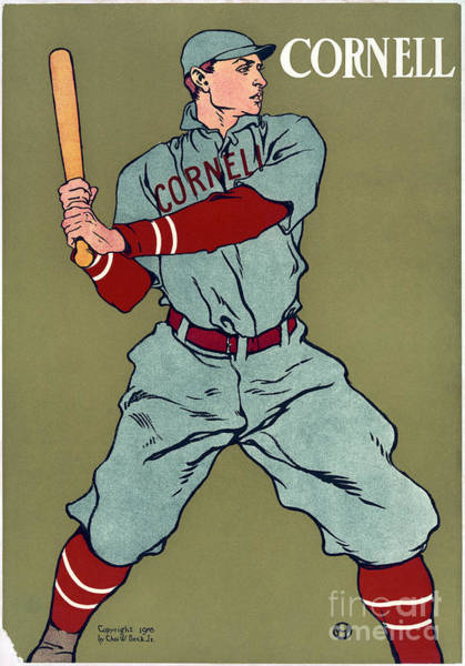 Painting - Cornell Baseball by Granger