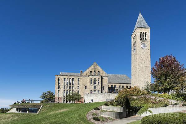 The Clock Tower Photograph - Cornell University Campus by John Greim