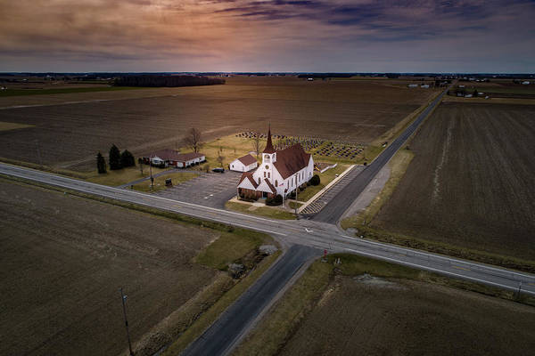 Photograph - Corner Church by Nick Smith