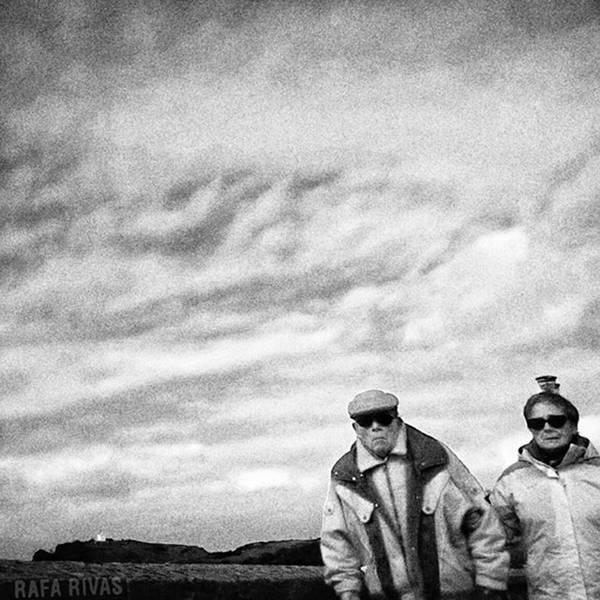 Portrait Photograph - Corner Couple  #people #instapeople by Rafa Rivas