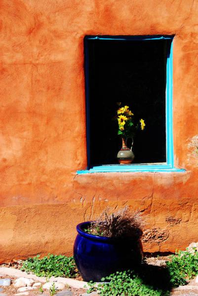 Photograph - Corner In Santa Fe Nm by Susanne Van Hulst
