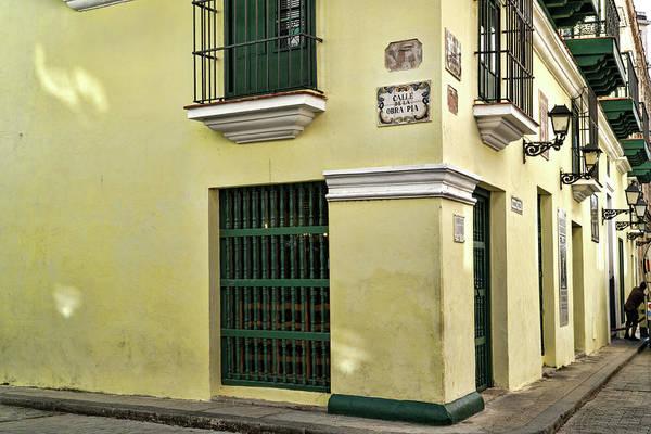 Photograph - Corner Of Calle De La Obra Pia And Oficios by Sharon Popek