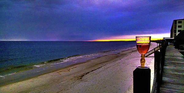Photograph - Corner Of Sunset And Wine by Jeff Kurtz