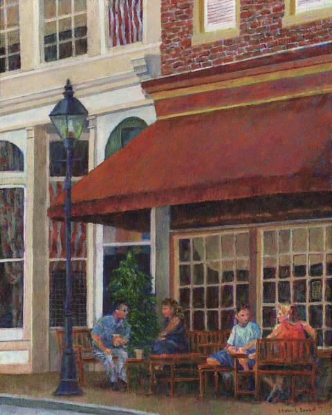 Photograph - Corner Restaurant by Susan Savad
