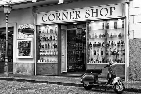 Wall Art - Photograph - Corner Shop In Sorrento by John Rizzuto