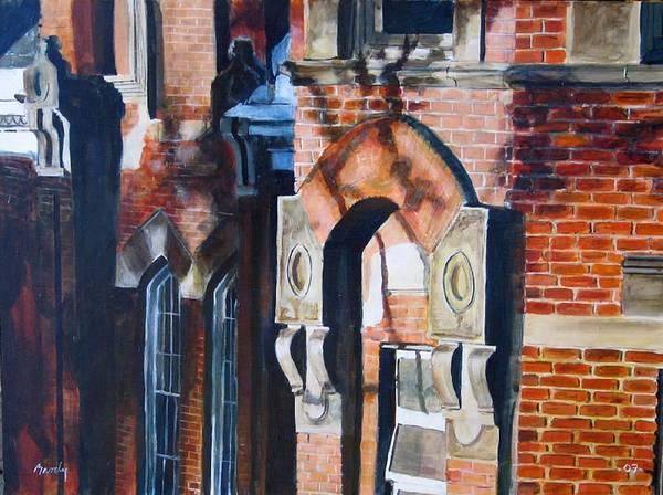 Painting - Corner by William Brody
