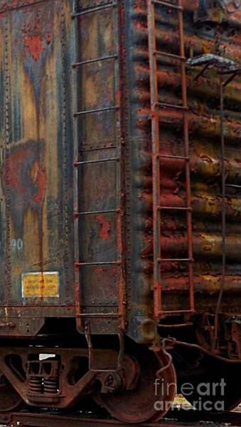 Photograph - Cornered Ladders by David Neace