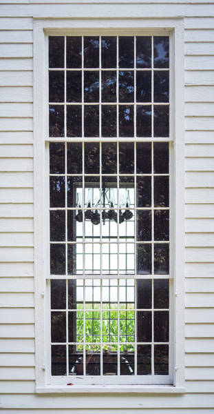 Photograph - Cornfield Through Church Windows by Guy Whiteley