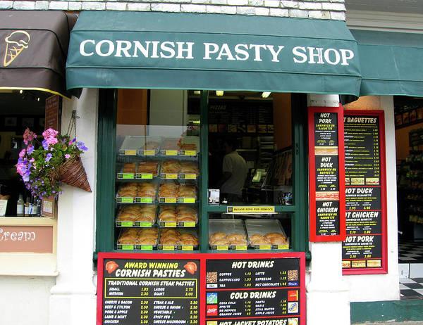 Photograph - Cornish Pasty Shop by Kurt Van Wagner
