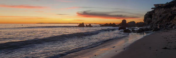 Photograph - Corona Del Mar Panoramic by Cliff Wassmann