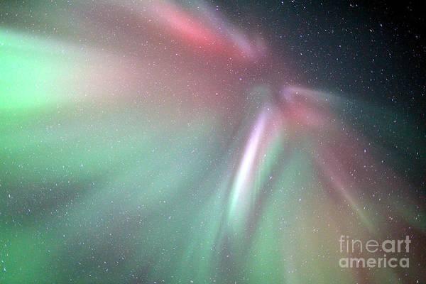 Photograph - Coronal Aurora Borealis March 27 2014 by John Chumack