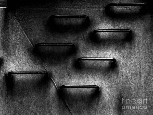 Rungs Wall Art - Photograph - Corporate Ladder To Nowhere by James Aiken