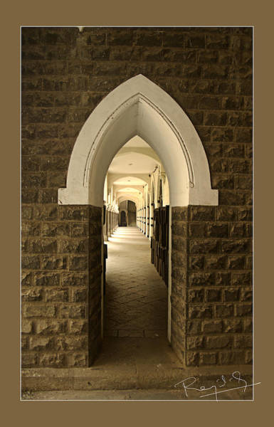 Test Of Time Photograph - Corridor by Rajat Ghosh