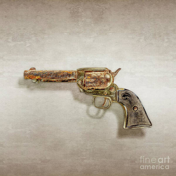 Colt Photograph - Corroded Peacemaker by YoPedro
