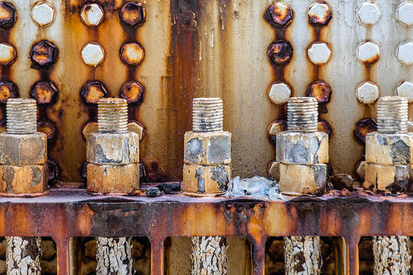 Photograph - Corrosion by SR Green
