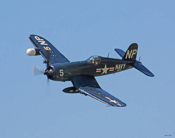 Wall Art - Photograph - Corsair 05 by Jeff Stallard