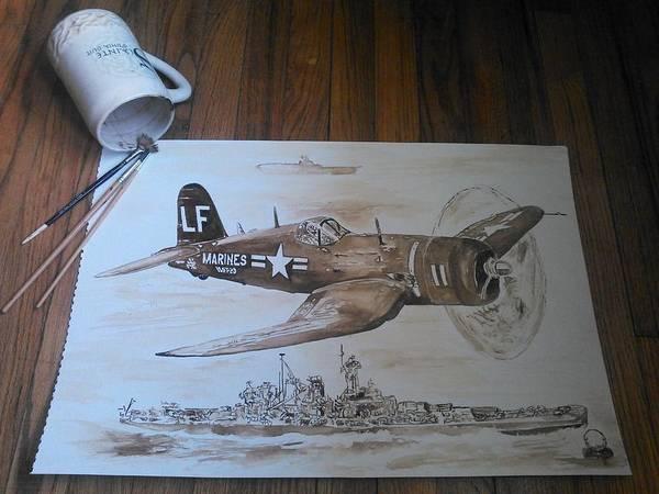 Wall Art - Painting - Corsair by Nathanael Manzer